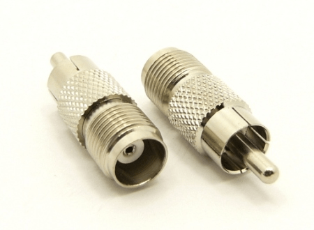 RCA-male / TNC-female Adapter (P/N: 7444)