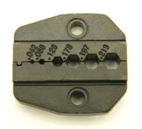 "Crimper tool, die for ratcheting crimper (.213"", .197"", .178"", .128"", .068"", .042"") for RG-142, LMR-110, ,RG-174, RG-178, RG-188, RG-196, Belden 8216, LMR-200, RG-316, RG-400, RG-58, and Belden 7807. (P/N: 7505-DIE-174)"