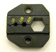 """Crimper tool, die for ratcheting crimper (.100"""", .128"""", & .429""""), for RG-8/U, RG-11, RG-83, RG-213/U, RG-214/U, LMR-400, and Belden 9913. (P/N: 7505-DIE-400)"""