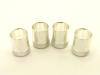 Reverse thread QC sleeve for standard crimp on UHF-male (P/N: 7505-QC)