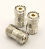 UHF-female / UHF-female (UHF barrel) 16-point with gold-plated center pin (P/N: 7517-16V)