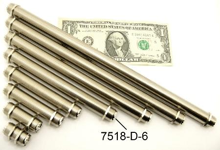 "UHF-Female / UHF-Female (6"" bulkhead) (P/N: 7518-UHF-D-6)"