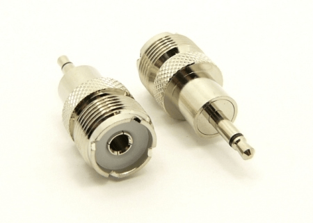 UHF-female / 3.5 MM-male Adapter (P/N: 7524)