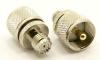 UHF-male / mini-UHF-female Adapter (P/N: 7542)