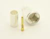 Mini-UHF-male, cable end, crimp-on for RG-223 RG-59 LMR-240 and RG-8X mini 8 (P/N: 7600-58)