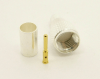 Mini-UHF-male, cable end, crimp-on for RG-223 RG-59 LMR-240 and RG-8X mini 8 (P/N: 7600-8X)