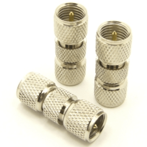 mini-UHF-male / mini-UHF-male Adapter (P/N: 7605)