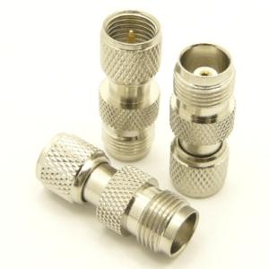 mini-UHF-male / TNC-female Adapter (P/N: 7609)