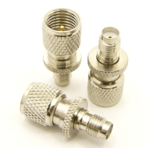 mini-UHF-male / SMA-female Adapter (P/N: 7831)