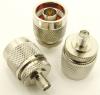 N-male / SMA-female Adapter (P/N: 7833)