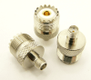 SMA female to UHF female Adapter (P/N: 7839) - Max-Gain Systems, Inc.