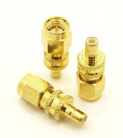 SMA-male / SMB-female Adapter (P/N: 7851)