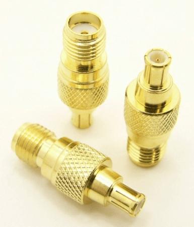 SMA-female / MCX-male Adapter (P/N: 8101)