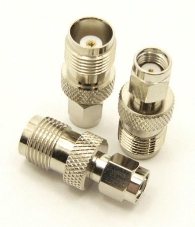 TNC-female / RP-SMA-male Adapter (P/N: 8899)