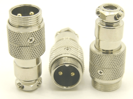 2-pin microphone jack cable extension (P/N: 9302-EXT)