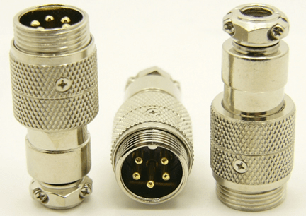 5-pin microphone jack cable extension (P/N: 9305-EXT)