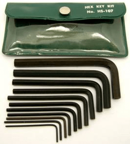 HS-107 - Bristol Hex L-Key Kit