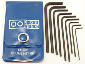 SS-508 - Bristol Spline L-Key Kit