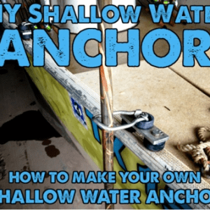DIY Shallow Water Anchor Part Kits
