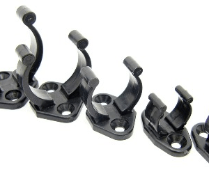 Storage Clips for Fiberglass Round Solid Rods and Tubes
