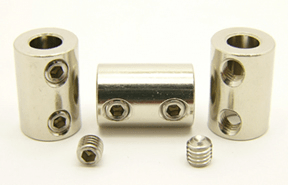 SC-02 1/4 inch by 1/4 inch Stainless Steel shaft coupling - Max-Gain Systems, Inc.