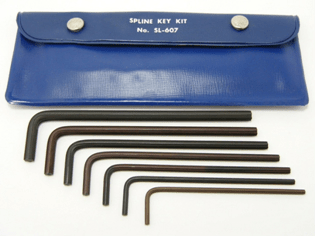 SL-607 - Bristol Spline Long L-Key Kit