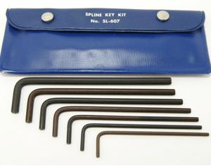 SL-607 - Bristol Spline Long L-Key Kit