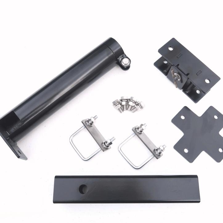 M-H1052STDT-K 2 inch Support Tube Tilt 10.5 inch Hitch Bar
