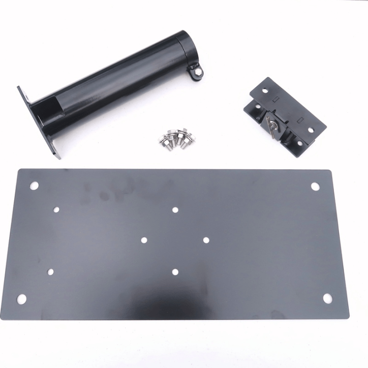M-D212EXTT-K Drive-On Base Plate 2.5 inch Support Tube with Tilt Mechanism - Max-Gain Systems, Inc.