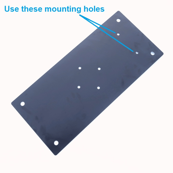 M-P1022 Drive-On Plate mounting holes to use - Max-Gain Systems, Inc.