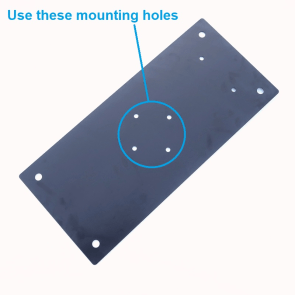 M-P1022 Ground Plate mounting holes to use - Max-Gain Systems, Inc.