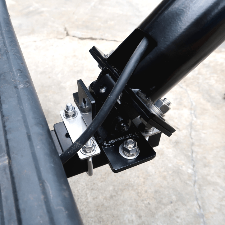 Truck Hitch Tilt Coax Center and Correct Tilt Mechanism usage - Max-Gain Systems, Inc.