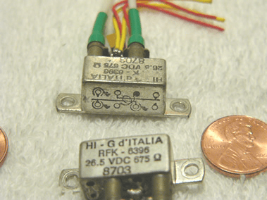 RFK-6396 high speed SPDT RF switching relay