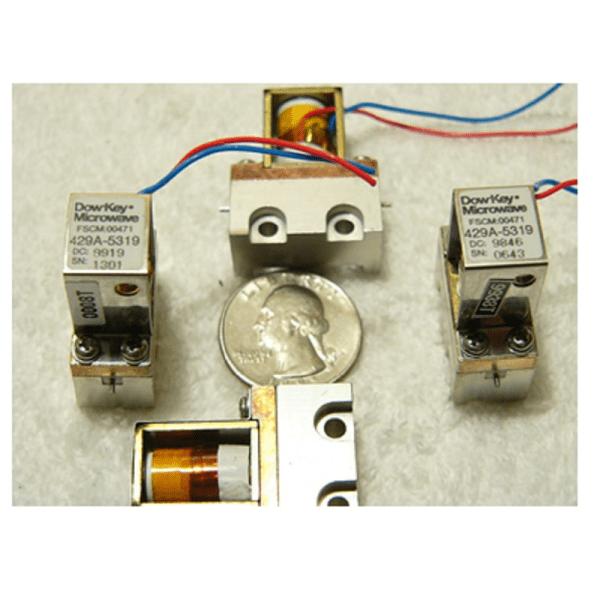 Dow-Key Microwave SPST model 429A-5319 mini RF relay