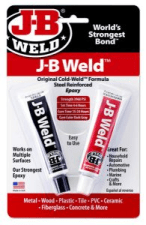 JB Weld Original Cold-Weld Formula, Steel Reinforced 2 part epoxy