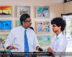 Department of Business Administration chala Ruu 2015 art exhibition (11)