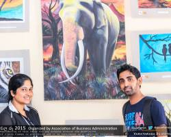 Department of Business Administration chala Ruu 2015 art exhibition (35)