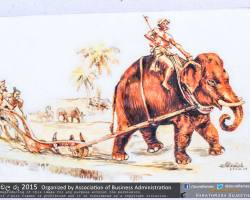 Department of Business Administration chala Ruu 2015 art exhibition (94)