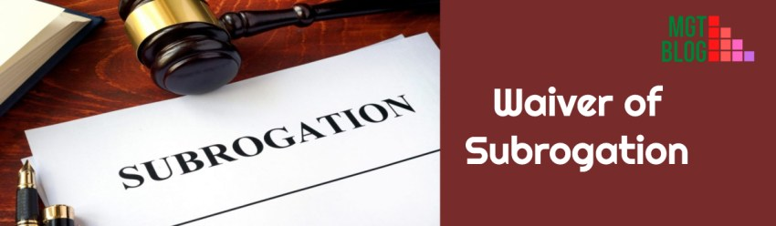 waiver of subrogation