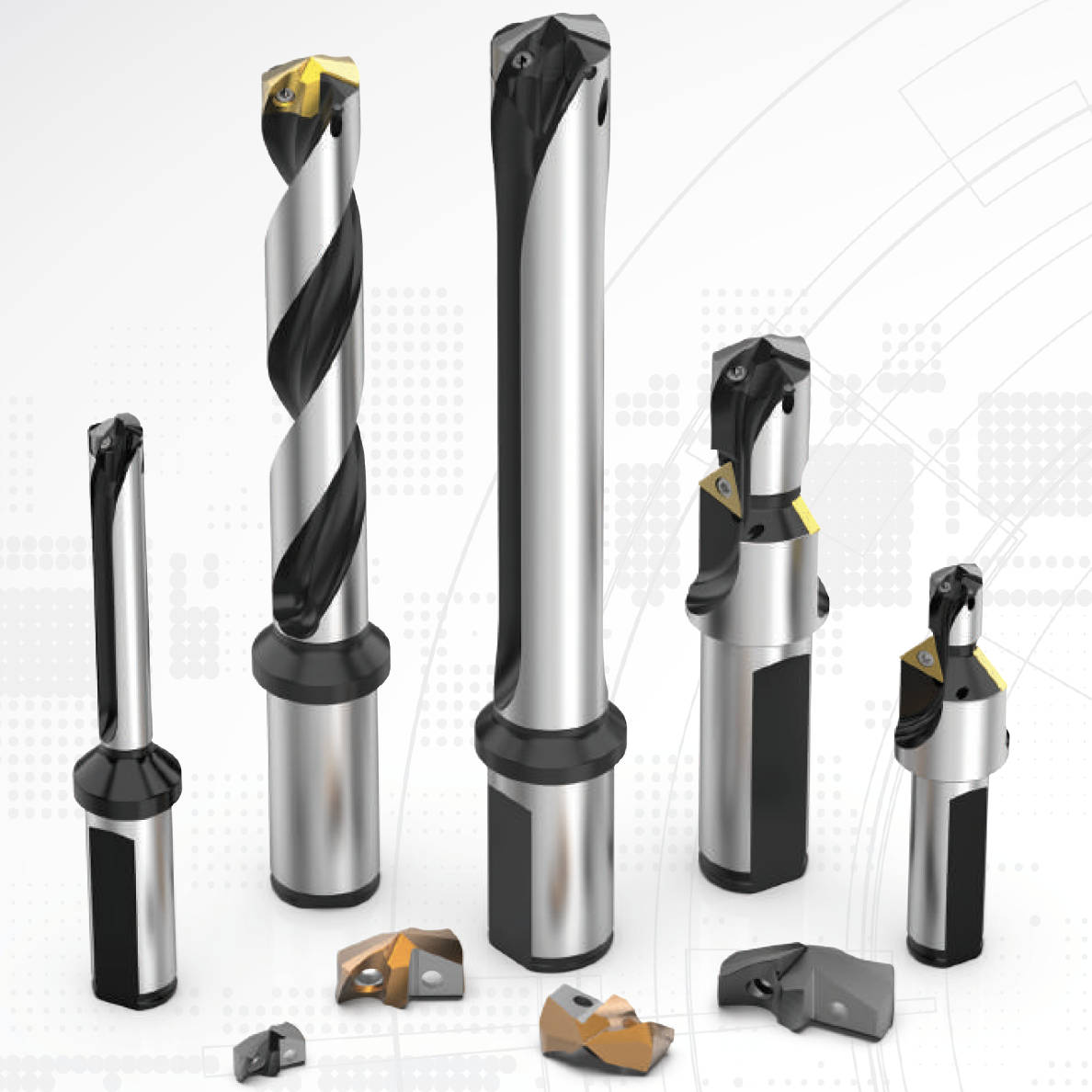 AMEC, Allied Machine Engineering Corp, Gen3sys, XT Drill, XT Pro Drill, Drill, Indexable Drill, kentip,