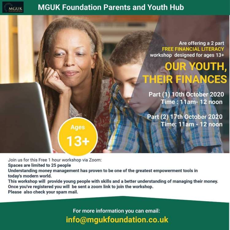 financial literacy for the youth