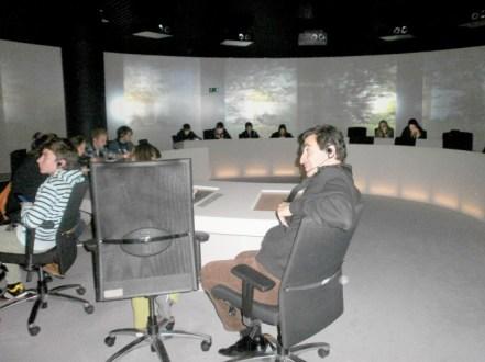 Europarl Visiting : Посетителски център Парламентариум