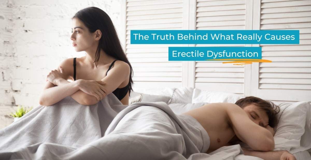 Woman Upset About Erectile Dysfunction Issues