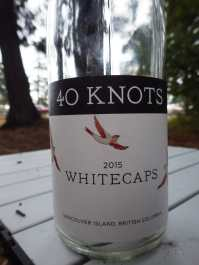 Another lovely 40 Knots wine