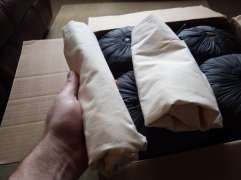 What's this? They came with storage sacks!