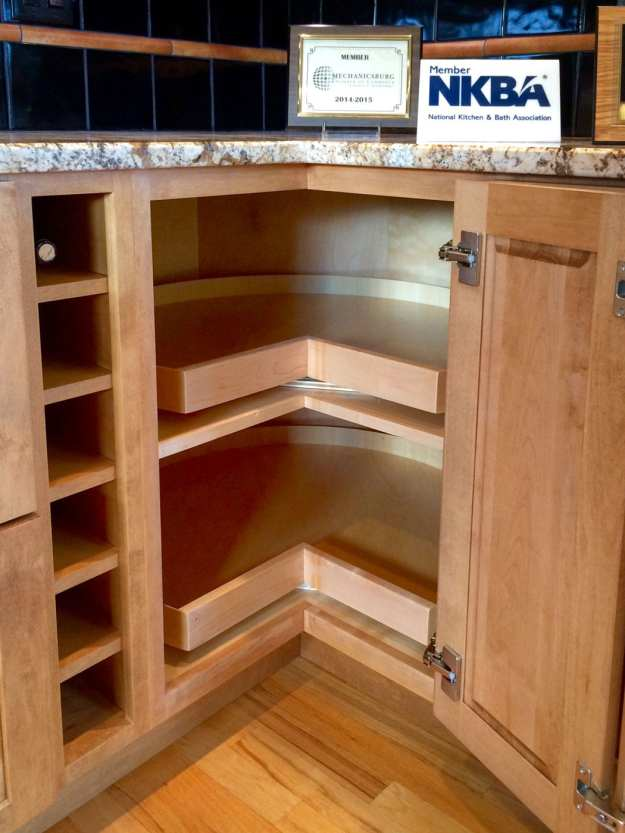 5 solutions for your kitchen corner cabinet storage needs.