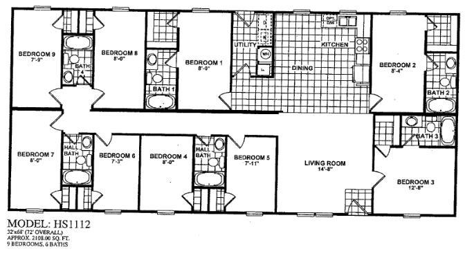 4 bedroom double wide. Double Wide Floor Plans 4 Bedroom Memsaheb Net 5 2 Bath Trailer  Scifihits com