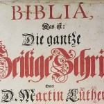 New acquisition: Geyer-Ziegler family Bible