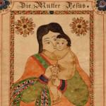 "New acquisition: ""Die Mutter Jesus"" fraktur"