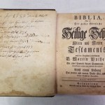 New acquisition: Yoder-Shelly family Bible